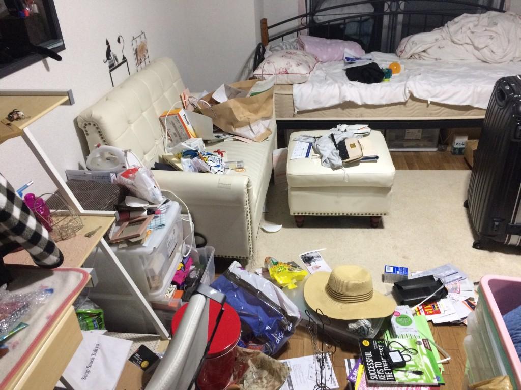 大分市ごみ屋敷、別府市ゴミ屋敷、部屋の片付け、遺品整理、