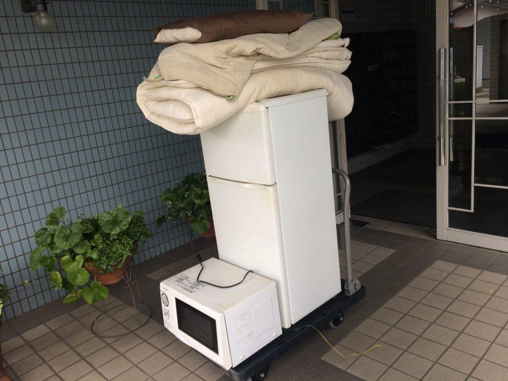 洗濯機回収、引越しゴミ回収、粗大ゴミ回収、大分、別府