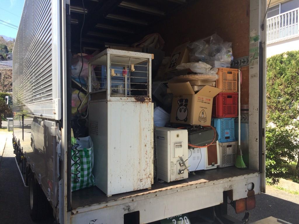 大分市引越し、別府市引越し、粗大ゴミ回収、実家片付け、空家片付け、ゴミ屋敷、エアコン回収、