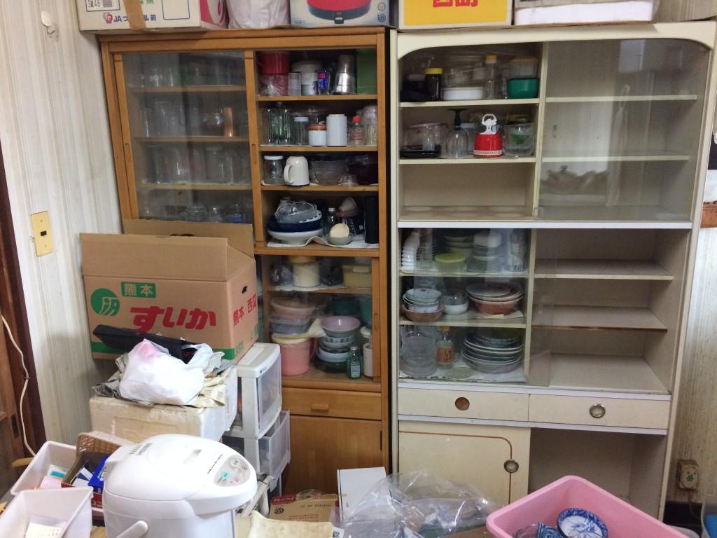 実家片付け、空家片付け、引っ越しゴミ回収大分、不用品回収、