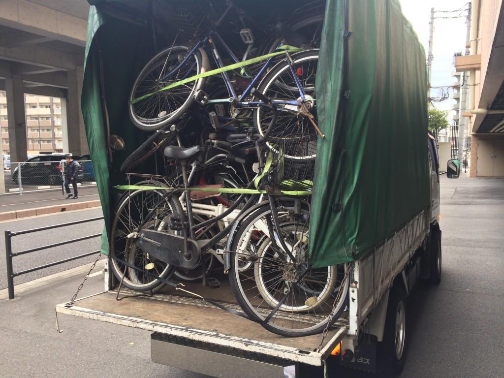 放置自転車回収、バイク回収、自転車引取り、バイク買取、家具回収、