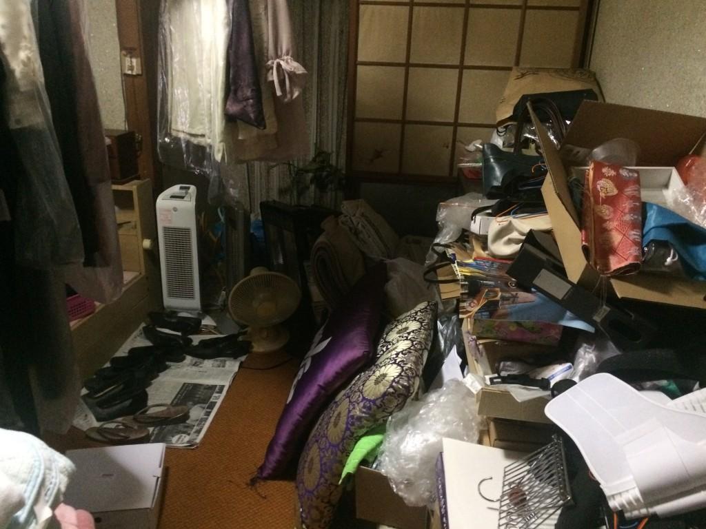 大分ゴミ屋敷、別府市ゴミ屋敷、部屋の片付け