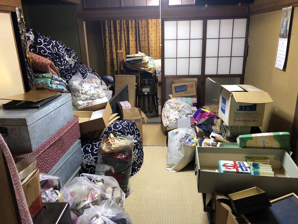 空家片付け、実家片付け、遺品整理、引越しゴミ回収、汚部屋片付け、ゴミ屋敷
